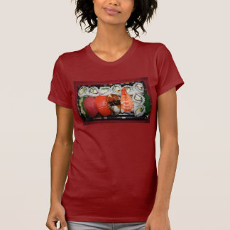 Bandeja del sushi camiseta