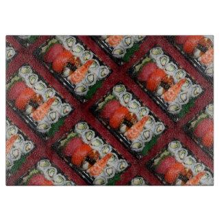 Bandeja del sushi tabla para cortar