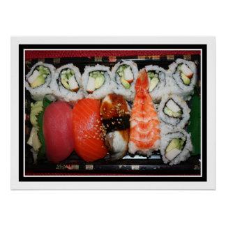 Bandeja del sushi