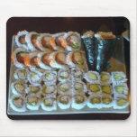 Bandeja Mousepad del sushi Tapetes De Raton