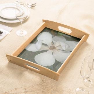 Bandeja - porción - flor II de la magnolia