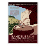 Bandelier National Monument Poster