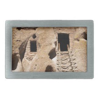 Bandelier New Mexico Petroglyphs Ancient Indian Belt Buckle