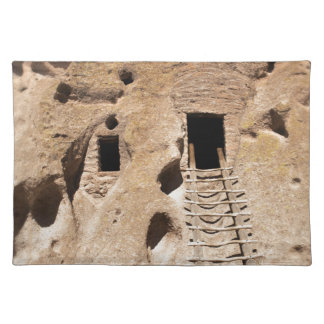 Bandelier New Mexico Petroglyphs Ancient Indian Cloth Placemat