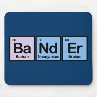 Bander Made of Elements Mouse Pad
