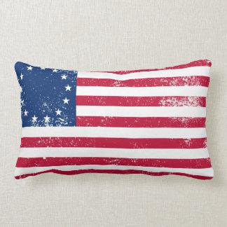 Bandera 1776 de los E.E.U.U. Almohadas