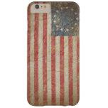 Bandera 1776 de los E.E.U.U. Funda Para iPhone 6 Plus Barely There