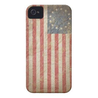 Bandera 1776 de los E.E.U.U. iPhone 4 Case-Mate Coberturas