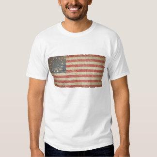 Bandera 1776 de los E.E.U.U. Remeras