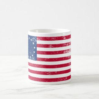 Bandera 1776 de los E.E.U.U. Tazas De Café