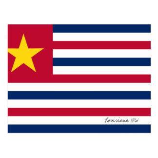 Bandera 1861 de Luisiana Tarjetas Postales