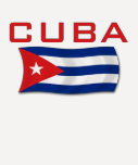 Bandera 1 de Cuba Playera