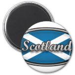 Bandera 1 de Escocia Imán