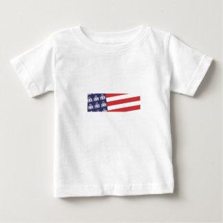 Bandera 1 de Fred Playera Para Bebé