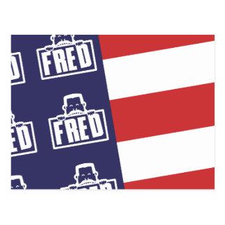 Bandera 1 de Fred Postal