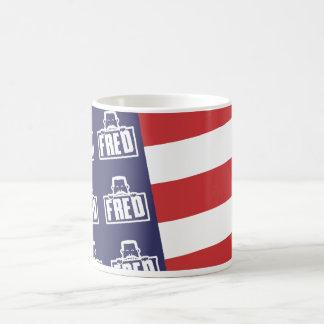 Bandera 1 de Fred Taza De Café