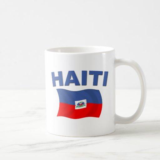 Bandera 1 de Haití Taza