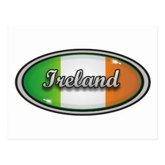 Bandera 1 de Irlanda Tarjeta Postal