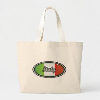 Bandera 1 de Italia Bolsa Tela Grande