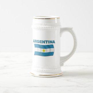 Bandera 1 de la Argentina Taza De Café
