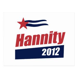 Bandera 2012 de Hannity 2 Postal