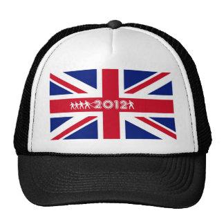 Bandera 2012 de Union Jack de la camiseta de Gran  Gorro