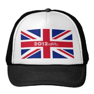Bandera 2012 de Union Jack de la camiseta de Gran  Gorro De Camionero