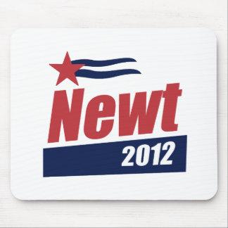 Bandera 2012 del Newt Alfombrillas De Ratón