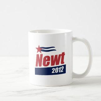 Bandera 2012 del Newt Taza De Café