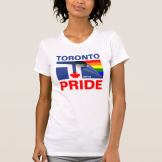 Bandera 2014 del arco iris del orgullo de Toronto Polera