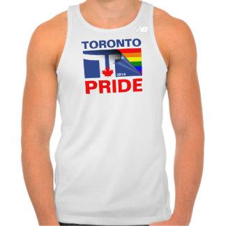 Bandera 2014 del arco iris del orgullo de Toronto Poleras