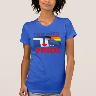 Bandera 2014 del arco iris del orgullo de Toronto Remera