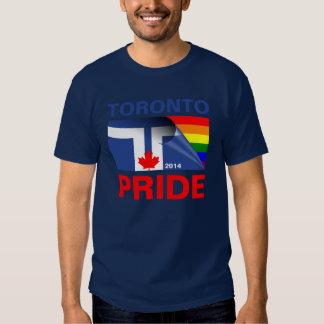 Bandera 2014 del arco iris del orgullo de Toronto Remeras
