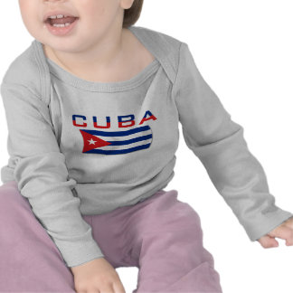 Bandera 2 de Cuba Camiseta