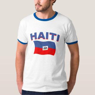 Bandera 2 de Haití Polera