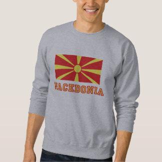 Bandera 2 de Macedonia Sudadera