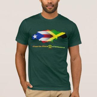 Bandera 2 de Puerto Rico y de Jamaica Playera