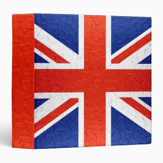 "Bandera 2 de Reino Unido Carpeta 1 1/2"""