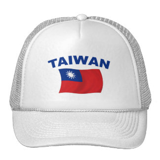 Bandera 2 de Taiwán Gorra
