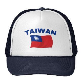Bandera 2 de Taiwán Gorros