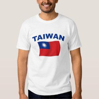 Bandera 2 de Taiwán Playera