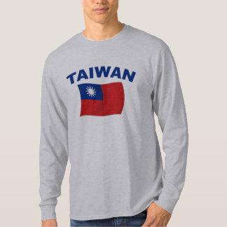 Bandera 2 de Taiwán Playeras