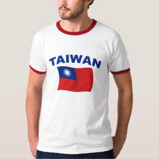 Bandera 2 de Taiwán Polera