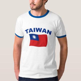 Bandera 2 de Taiwán Poleras