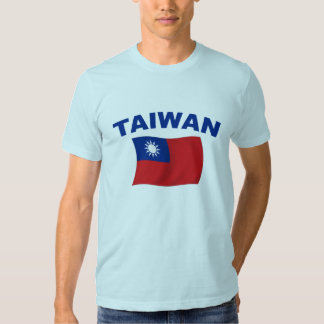 Bandera 2 de Taiwán Remera