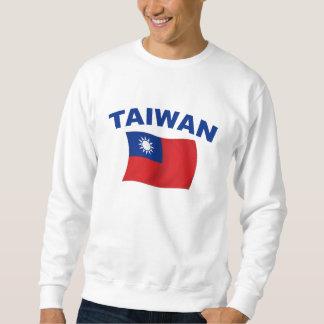 Bandera 2 de Taiwán Sudadera Con Capucha