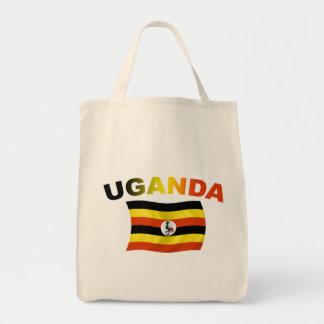 Bandera 2 de Uganda Bolsas