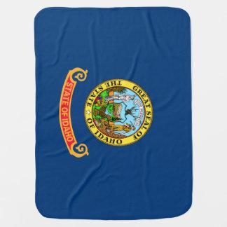 Bandera 2.png del estado de Idaho Mantita Para Bebé