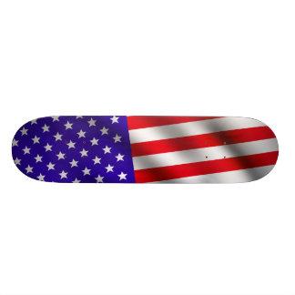"Bandera 3 de los E.E.U.U. Patineta 8 1/2"""