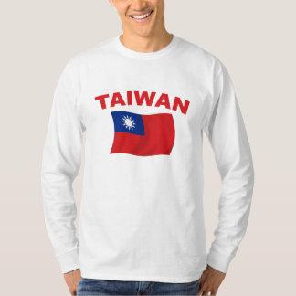 Bandera 3 de Taiwán Camisas